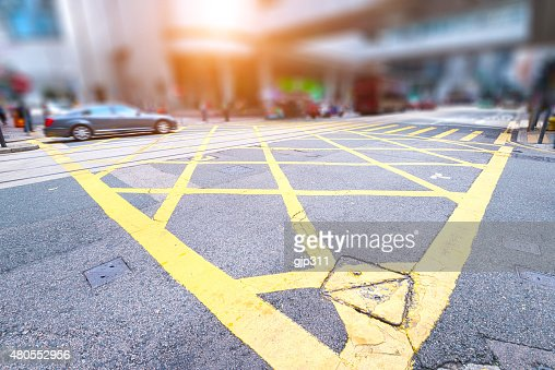 clean road of city : Stock Photo
