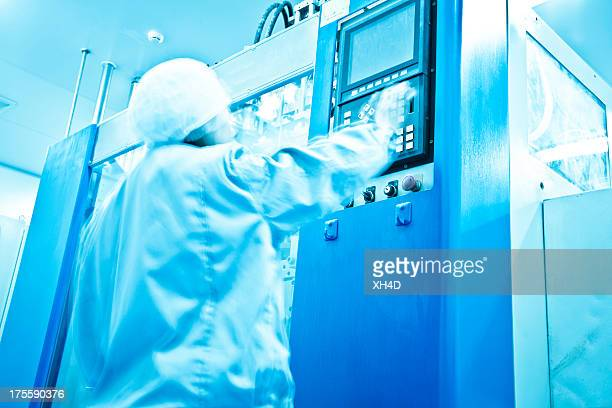 Saubere Zimmer in Pharmafabrik