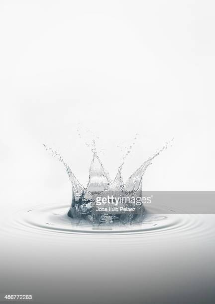 Clean water splash