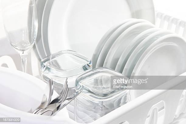 Blanco limpio platos, ACCESO CON CLAVE