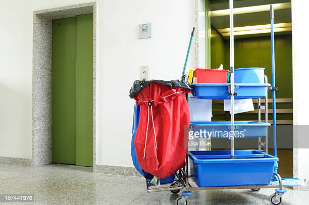 Cleaning Equipment in Hospital