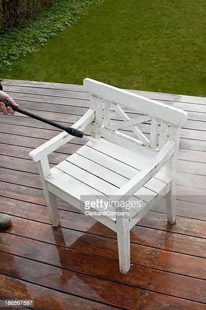 Reinigung Garten Möbel