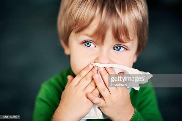 Reinigung der Nase