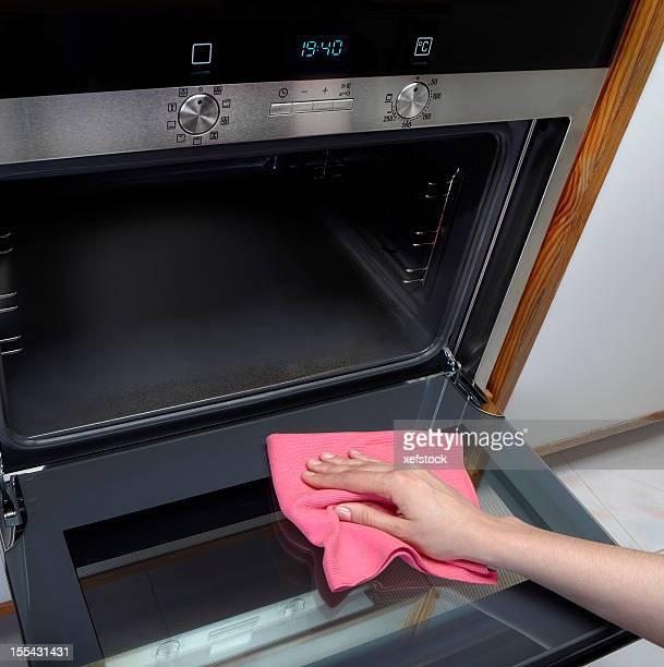Reinigung Ofen.