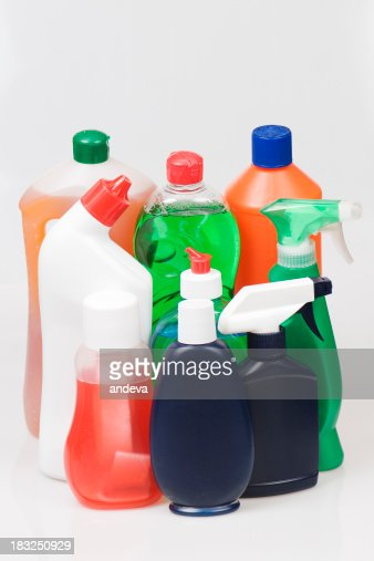 Cleaning products : Stock Photo