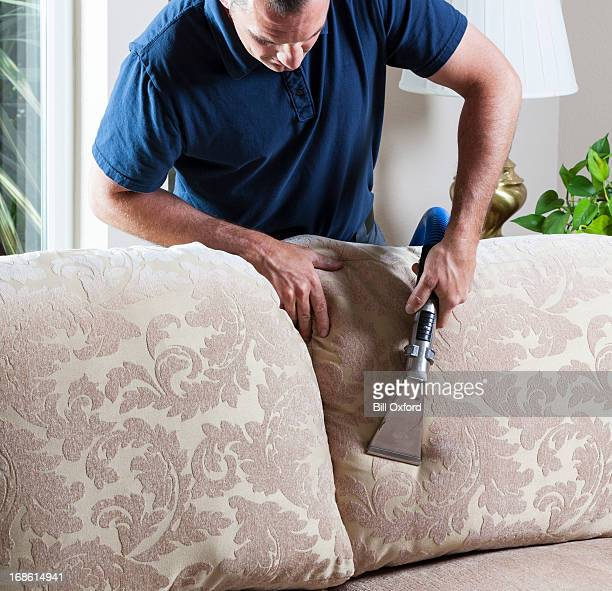 Sofá de limpeza