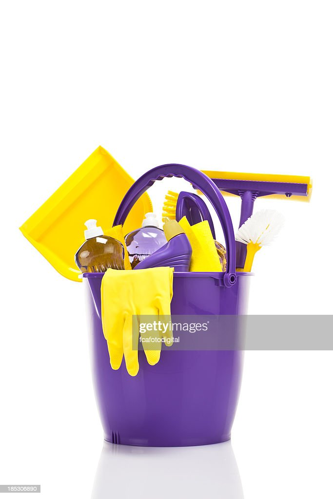 Cleaning Supplies : Stock Photo