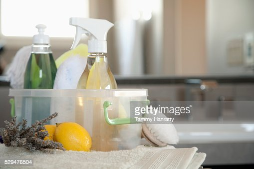 Cleaning supplies : Stockfoto