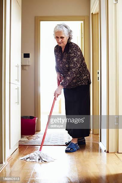 Reinigung im Haus