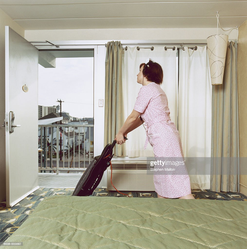 Cleaning Woman : Stock Photo
