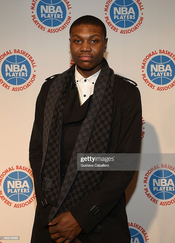 <a gi-track='captionPersonalityLinkClicked' href=/galleries/search?phrase=Cleanthony+Early&family=editorial&specificpeople=10064686 ng-click='$event.stopPropagation()'>Cleanthony Early</a> attends the NBPA All-Star Players Social at Capitale on February 14, 2015 in New York City.