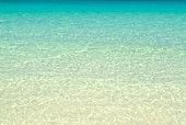 Clear blue sea
