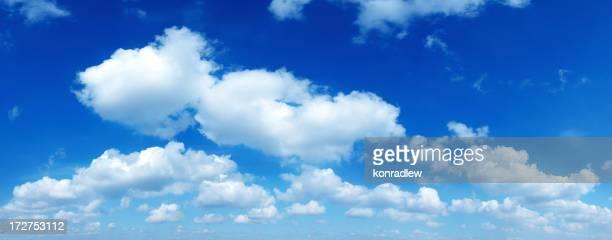 XXXL clair ciel bleu panorama