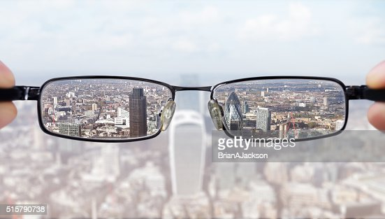 Clear business vision : Stock Photo