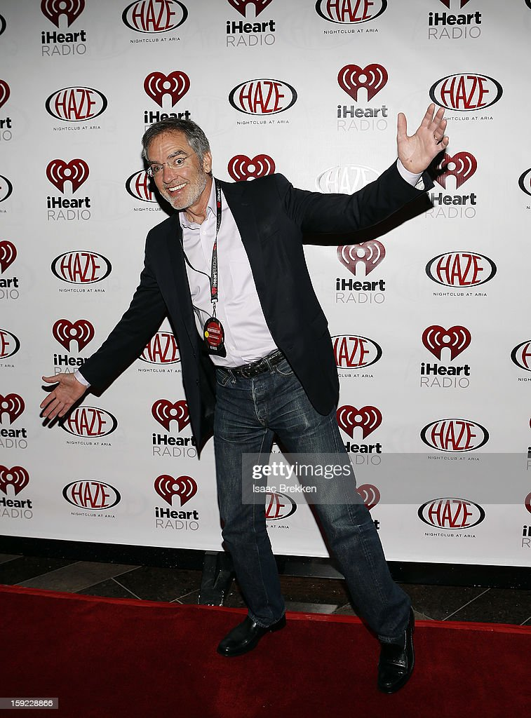 Clear Channel CEO Bob Pittman arrives at the iHeartRadio CES exclusive party featuring a live performance by Ke$ha at Haze Nightclub at the Aria Resort & Casino at CityCenter on January 9, 2013 in Las Vegas, Nevada.
