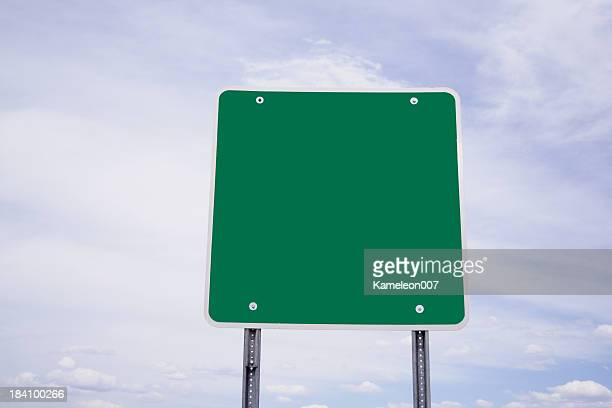 CLear Green Sign