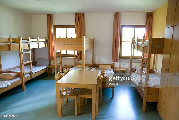 clear inn room in youth hostel