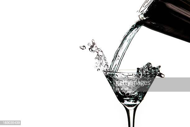 Clear Martini Pour