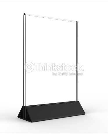 Clear Plastic And Acrylic Table Talkers Promotional Upright Menu ...