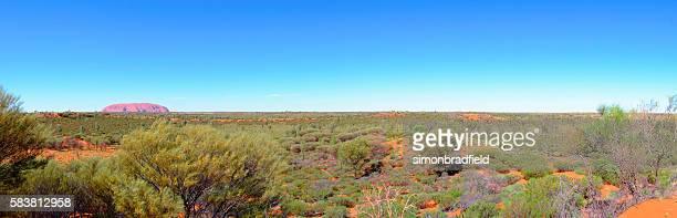 Clear Skies Over Uluru