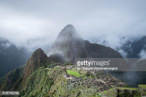 Clearing Cloud from Machu Picchu