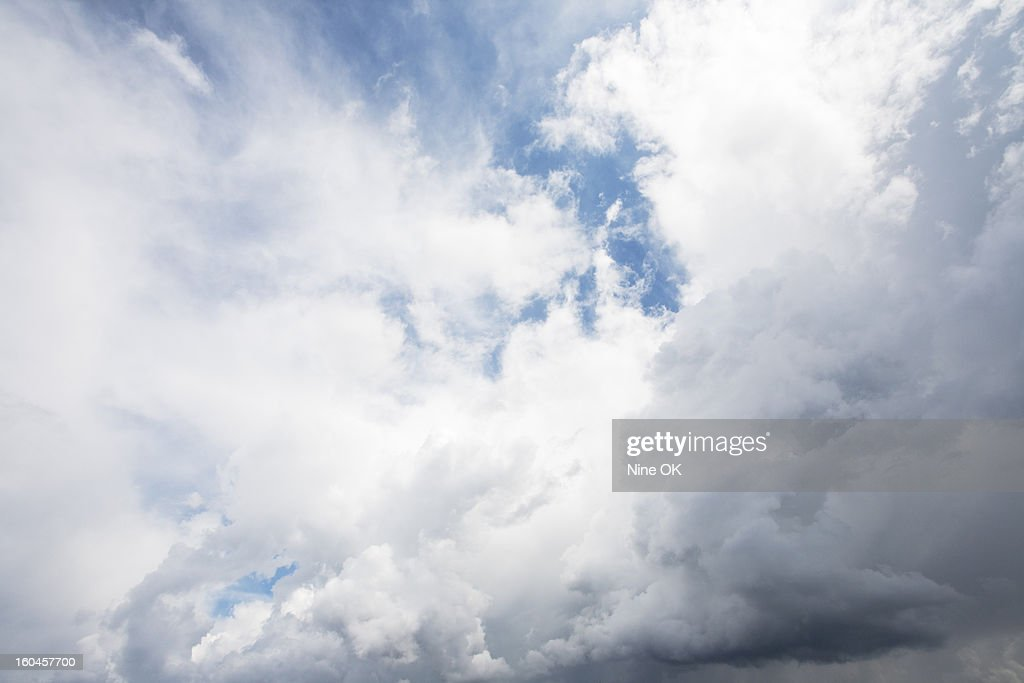 Clearing storm : Stock Photo