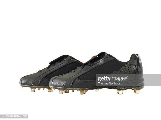 Cleats on white background