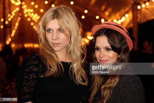 Clemence Poesy and Rachel Bilson attend the Chanel Resort dinner for the launch of Chanel's Collection Croisiere 2012 on May 8 2011 in Cap d'Antibes...
