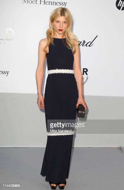 Clemence Poesy arrives at amfAR's Cinema Against AIDS Gala 2011 at Hotel Du Cap on May 19 2011 in Antibes France