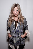 Clemence Poesy attends a celebration of an opening for the Rodarte shop and gallery at Colette on October 5 2009 in Paris France