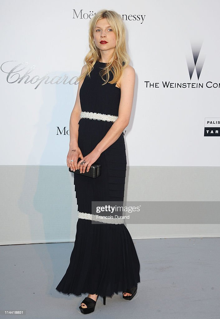 Clemence Poesy attends amfAR's Cinema Against AIDS Gala during the 64th Annual Cannes Film Festival at Hotel Du Cap on May 19, 2011 in Antibes, France.