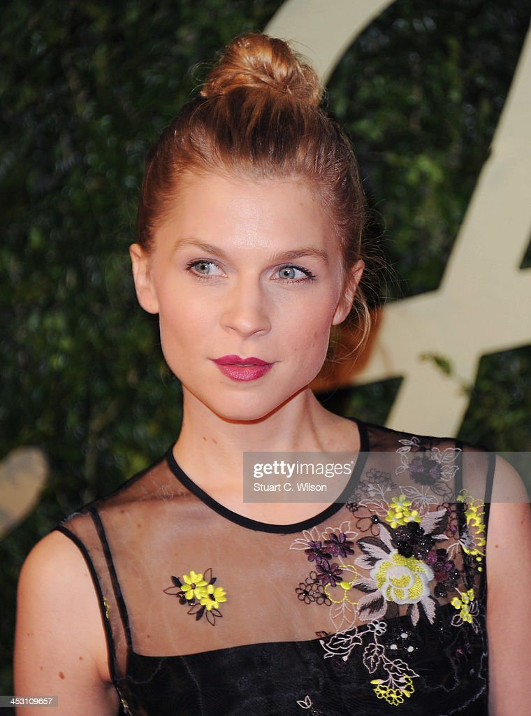 Clemence Poesy attends the British Fashion Awards 2013 at London Coliseum on December 2, 2013 in London, England.