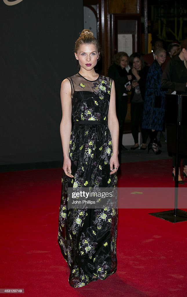 <a gi-track='captionPersonalityLinkClicked' href=/galleries/search?phrase=Clemence+Poesy&family=editorial&specificpeople=765034 ng-click='$event.stopPropagation()'>Clemence Poesy</a> attends the British Fashion Awards 2013 at London Coliseum on December 2, 2013 in London, England.
