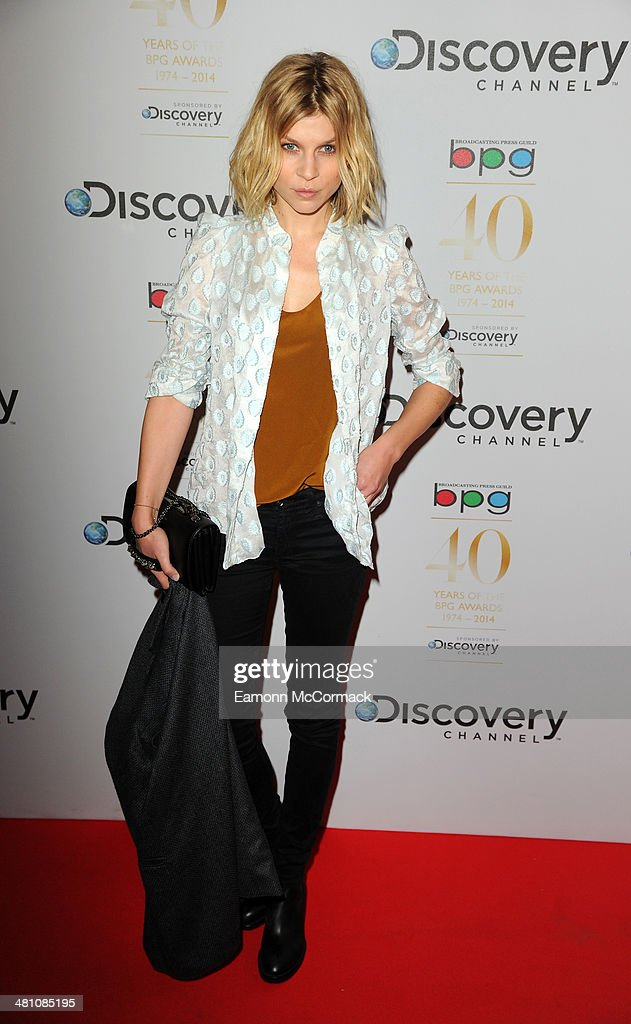 <a gi-track='captionPersonalityLinkClicked' href=/galleries/search?phrase=Clemence+Poesy&family=editorial&specificpeople=765034 ng-click='$event.stopPropagation()'>Clemence Poesy</a> attends the Broadcasting Press Guild Awards sponsored by The Discovery Channel at Theatre Royal on March 28, 2014 in London, England.