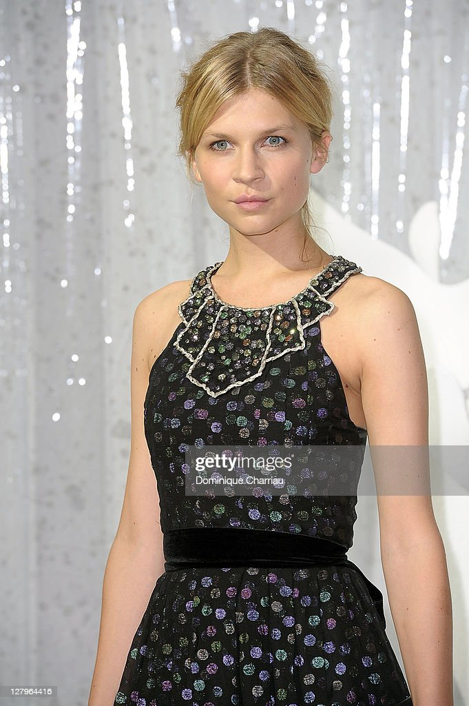 Clemence Poesy attends the Chanel Ready to Wear Spring / Summer 2012 show during Paris Fashion Week at Grand Palais on October 4, 2011 in Paris, France.