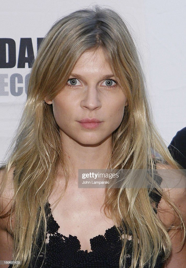 Clemence Poesy attends the 'Cyrano de Bergerac' cast photocall on August 23, 2012 in New York City.