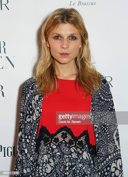 Clemence Poesy attends the Harper's Bazaar Women of the Year Awards 2015 at Claridges Hotel on November 3 2015 in London England