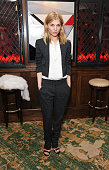 Clemence Poesy attends the 'Icons of Style' dinner hosted by Michael Kors and Vanity Fair on May 14 2015 in London United Kingdom