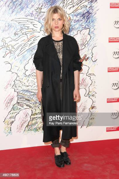 Clemence Poesy attends the official opening party of the Ilya And Emilia Kabakov Artwork Monumenta 2014 at the Grand Palais on May 13 2014 in Paris...