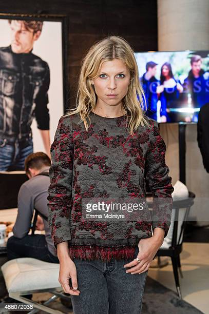 Clemence Poesy of 'The Ones Below' attends the Guess Portrait Studio at the Toronto International Film Festival on September 13 2015 in Toronto Canada