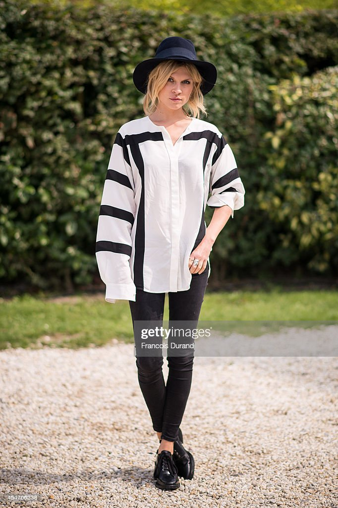 Clemence Poesy poses at the 'Jury Revelation Cartier' Photocall at Villa Cartier during the 40th Deauville American Film Festival on September 6 2014...