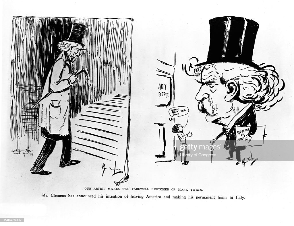 mark twain two views of Mark twain 1835-1910 biography although born samuel langhorne clemens, the author adopted what is one of the most famous pen names in literature, mark.