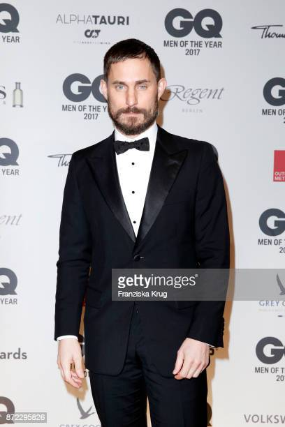 Clemens Schick arrives for the GQ Men of the year Award 2017 at Komische Oper on November 9 2017 in Berlin Germany