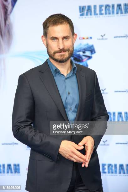 Clemens Schick attends the German premiere of the 'Valerian Die Stadt der Tausend Planeten' at CineStar on July 19 2017 in Berlin Germany
