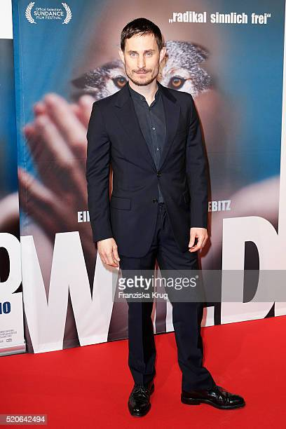 Clemens Schick attends the 'WILD' Premiere on April 12 2016 in Berlin Germany