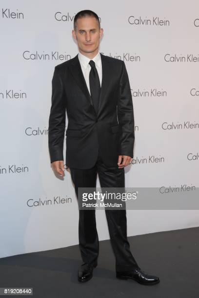 Clemens Schick attends World of CALVIN KLEIN Party to Kickoff Spring 2011 Berlin Fashion Week at Die Munze on July 7 2010 in Berlin Germany