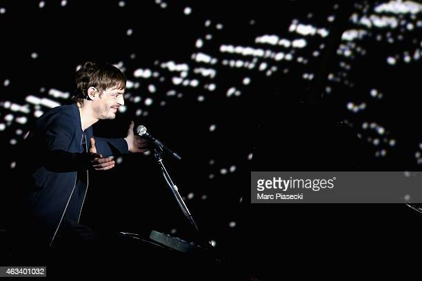 Clement Daquin aka ALB performs during the 30th 'Victoires de la Musique' French Music Awards Ceremony at le Zenith on February 13 2015 in Paris...