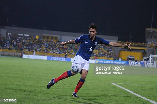 Clement Grenier from France shot on goal during the knockout game France vs Ecuador during the World Under 20 World Cup in the stadium Jaime Moron...