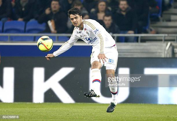 Clement Grenier of Lyon in action during the French Ligue 1 match between Olympique Lyonnais and Troyes ESTAC at their brand new stadium Parc...