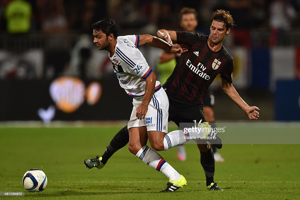 Olympique Lyonnais v AC Milan - Preseason Friendly
